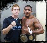 Rafael (head bjj coach) wins PK-1 Muay thai 82kg Title !