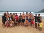 muay thai beach session