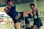 Roger Huerta training mmathailand